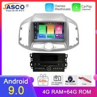 4G ram Android 9,0 автомобильный DVD стерео для Chevrolet Captiva Epica 2012 2013 2014 2015 автоматическое радио GPS навигация Мультимедиа Аудио