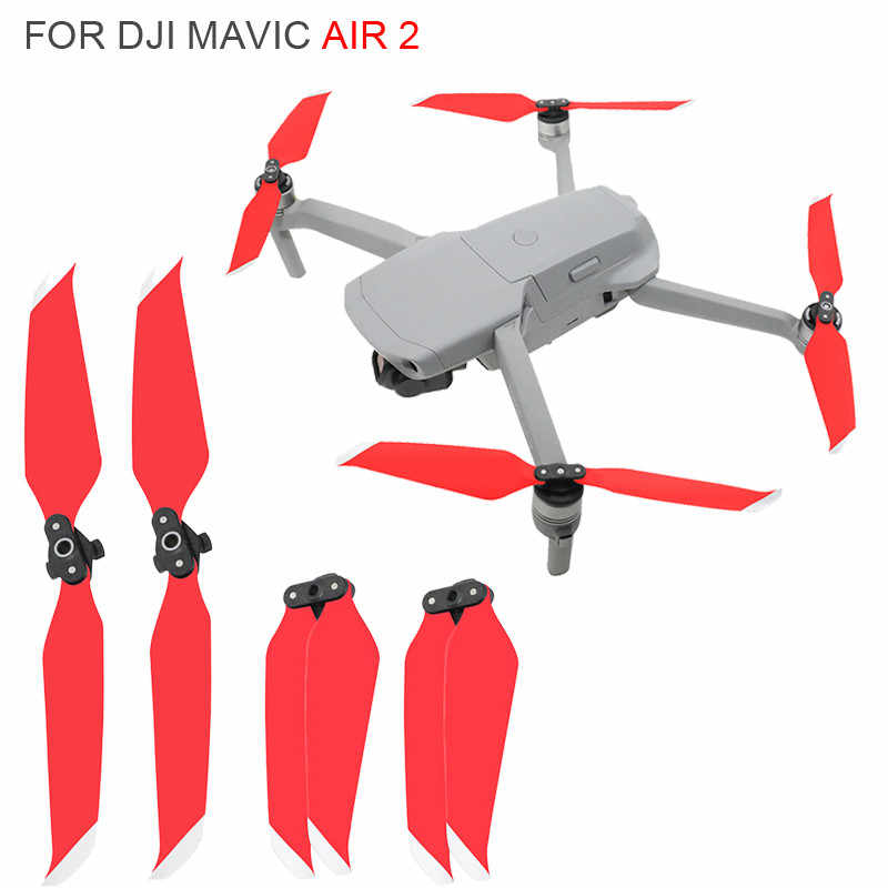 Golden Globact 2Pcs 7238 Propellers Low-Noise Quick Release Props for DJI Mavic air 2 RC Drone
