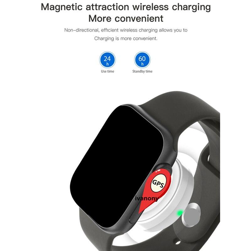GPS SmartWatch IWO 11 Smart Watch Women IWO11 Heart Rate Monitor Call Message Reminder for Iphone Android VS IWO 9 IWO 8 W34 - 5
