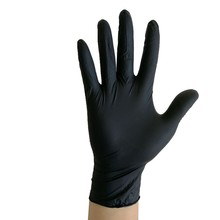 Rubber-Gloves Allergy-Free Blue Black 100pcs/Pack Mittens Work Disposable Food-Grade