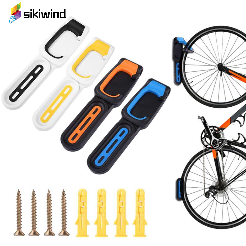 Outdoot Portable Bike Parking Wall Rack Storage Stand Bicycle Handlebar Caps