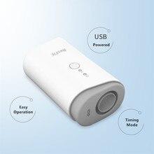 الأيونات السالبة بطارية قابلة للشحن جهاز تعقيم CPAP APAP BPAP مطهر للوجه قناع توقف التنفس أثناء النوم أوساس