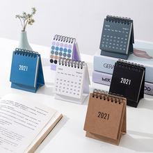 Настольный мини календарь 2021 для рабочего стола личное украшение