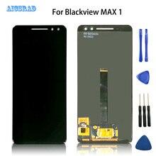 AICSRAD מקורי באיכות BLACKVIEW מקסימום 1 LCD תצוגה + מסך מגע זכוכית Digitizer החלפת max1 כלי