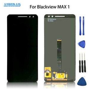 Image 1 - AICSRAD qualité dorigine pour BLACKVIEW MAX 1 écran LCD + écran tactile verre numériseur remplacement max1 outil