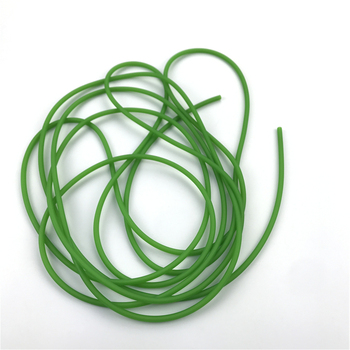 Green Natural Latex Slingshots Yoga Rubber Tube 0.5-5M For Hunting Shooting High Elastic Tubing Band Accessories 2X5mm Diameter 6
