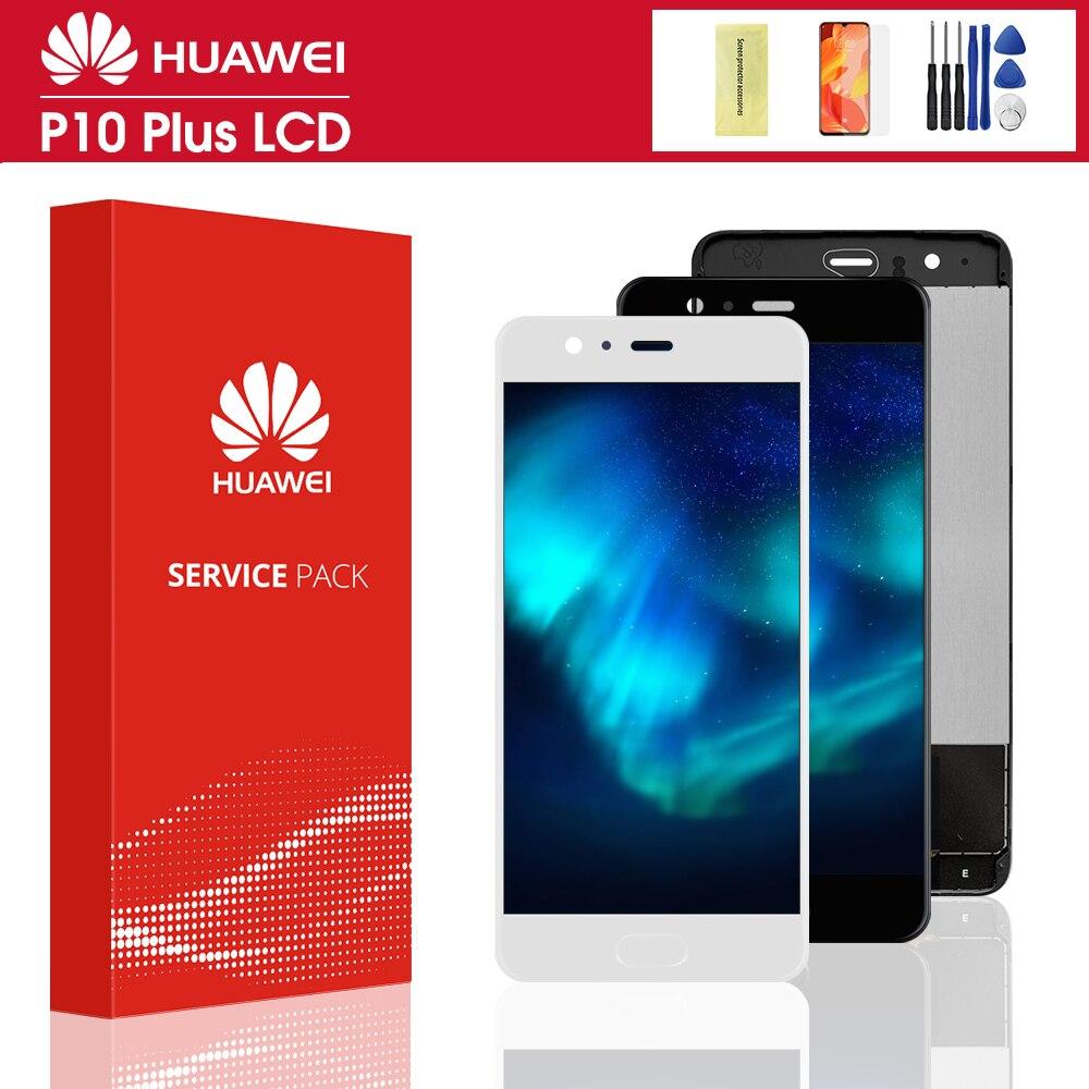 100% тест ЖК-дисплей для Huawei P10 плюс LCD сенсорный экран с рамкой Digitizer Замена для Huawei P10Plus VKY-L09 VKY-L29 с ЖК-дисплеем