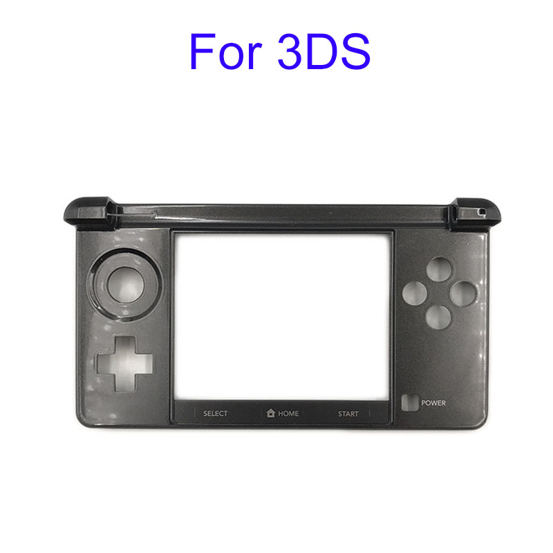 Original Used Bottom Middle Frame Housing Shell Cover Case Faceplate Replacement For Nintendo For 3DS Game Console