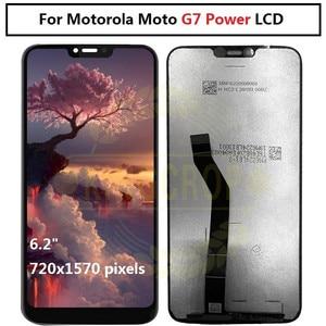 Image 3 - Display LCD originale G7 per Motorola Moto G7 Power Display XT1955 LCD G7 Plus Touch Screen Digitizer G7 Play LCD di ricambio XT1952 LCD