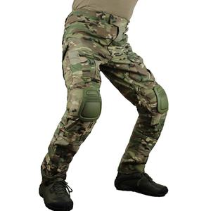 Image 1 - zuoxiangru Mens Multicam Tactical Pants Multi Pockets Military Camo Outdoor Airsoft Combat Hunting Pants with Knee Pads