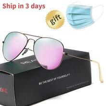 Womens Polarized Sunglasses Classic Brand Designer Pilot Sun