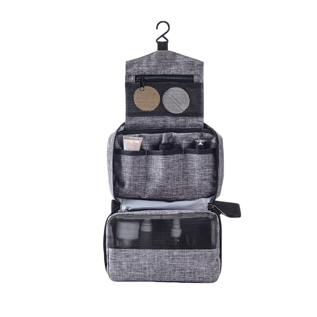 Hanging Toiletry Bag - Large Cosmetic Makeup Travel Organizer For Men & Women With Sturdy Hook Waterproof Organizer