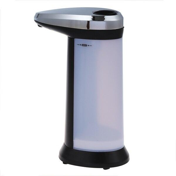 Automatic Sensor Soap & Sanitizer Dispenser Touch-free Kitchen Bathroom Grey 1