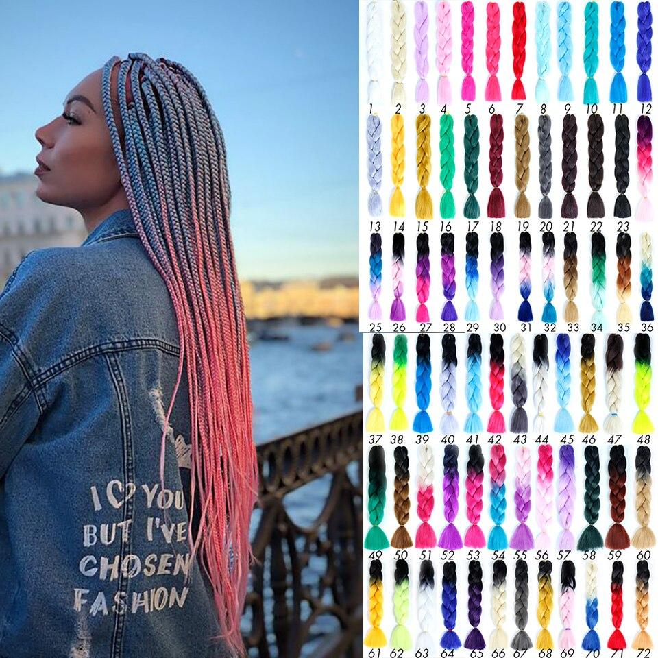 DIY Braid Headwear Dreadlocks Wig Men And Women Small Dreadlocks African Gradient Multi-color Braided Hair