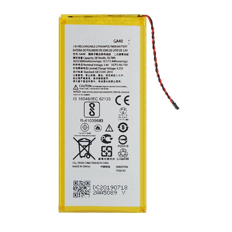 GA40 3550mAh Battery For Motorola Moto G4 /G4 Plus XT1625 XT1622 XT1644 XT1643 SNN5970A