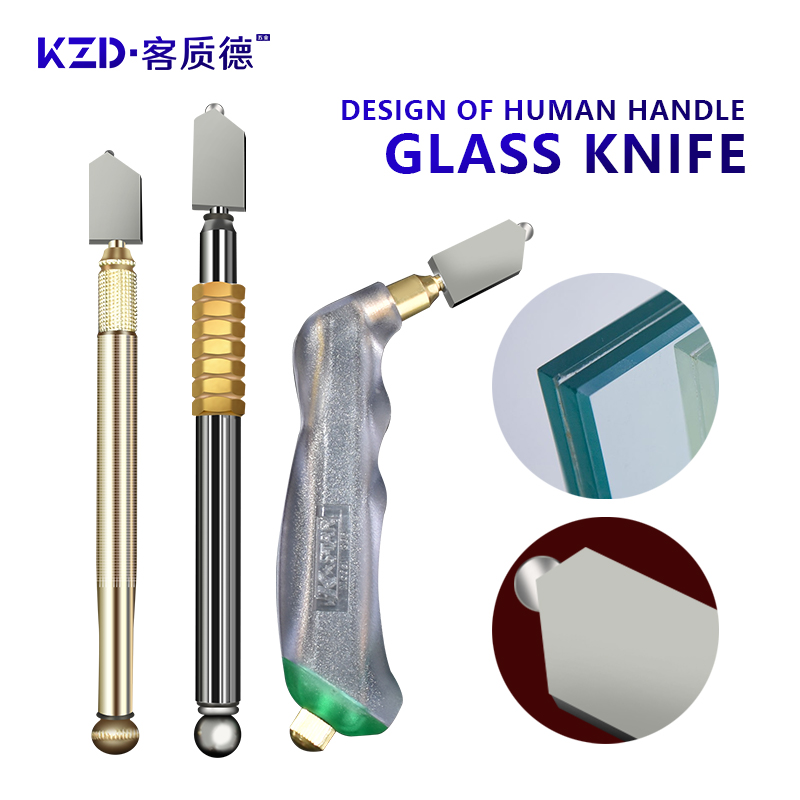 Single Diamond Glass Cutter Sharp Knife Wheel Blade Glass Diamond Cutting Tool Hard Alloy DIY Tile Mirror Repair Cutting Tools
