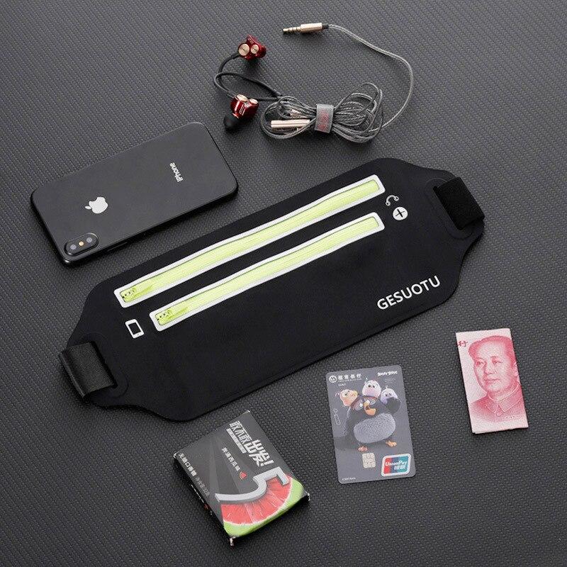 Sports Waist Pack Running Mobile Phone Bag Men And Women Multi-functional Outdoor Equipment Waterproof Hidden New Style Mini Sma