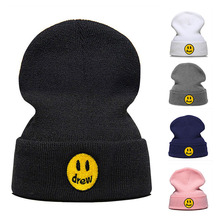 fashion Justin Bieber smile drew Casual skullies Beanies for