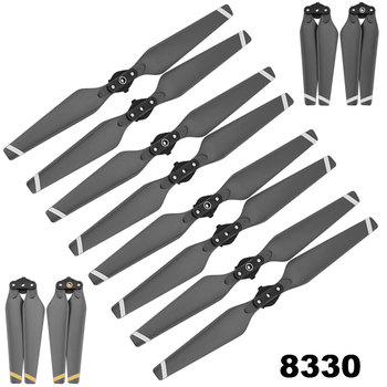 8pcs 8330 Propeller for DJI Mavic Pro Drone Folding Quick Release Props Replacement Blade Accessory Spare Parts CW CCW Fan masiken 4pcs quick release propellers for dji tello mini drone propeller ccw cw props drone accessories