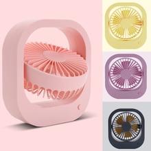 360° Mini Desk Fan Portable USB Desktop Fan 2-Speed Summer Cooling Fan For Office Car Home Travel Holiday Beach Laptop Quiet цена и фото
