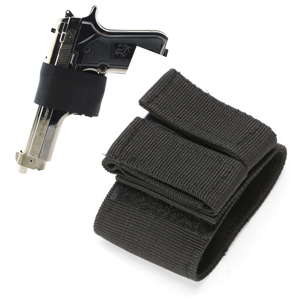 Quick Easy CCW Gun Holster Concealed Carry Pistol Holder Fast Belt Gun Pouch Holster image