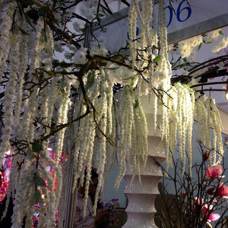 8 Branch Artificial Lover Fruit Green Amaranthus Artificial Flower Green Plant Wedding Home DIY Decoration Foam