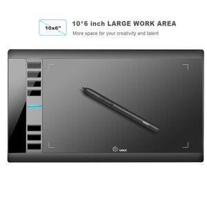 Image 2 - UGEE M708 V3 tablette graphique 8192 niveaux tablette de dessin numérique haute définition planche à dessin peinture outils enfants cadeaux