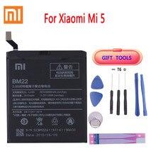 Xiaomi Original BM22 3000mAh Battery for Xiaomi Mi 5 Mi5 M5 High Quality Phone Replacement Batteries Package Free Tool original xiaomi bm22 high capacity phone battery for xiaomi 5 mi5 m5 prime 2910mah