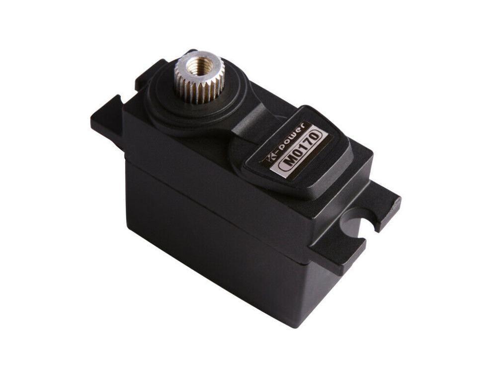 K-power M0170 4.8-6V 21G/2.2KG/0.09s High Speed Torque Metal Gear Micro/Mini Anolog RC Servo 1/18 Scale Crawler Car