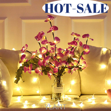Rose Simulation Orchid Branch Lights Tall Vase Filler Willow Twig Lighted Branch For Home Decoration LED Willow Branch Lamp