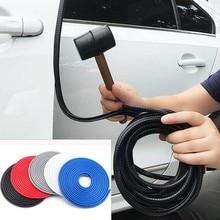 10M Car Door Anti Collision Strip Door Side Anti scratch Car Stickers Free Paste Protector Strip Sealing Guard Strip Accessories