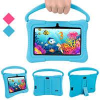 Veidoo-Tableta educativa para niños y bebés, Tablet Pc de aprendizaje de 7 pulgadas con mango, Android