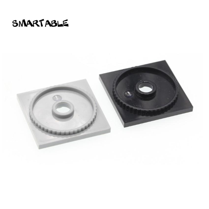 Smartable Turntable 4x4 Square Base Locking WEDO Building Blocks MOC Part Toys For Kids Compatible Major Brand 61485 20pcs/lot