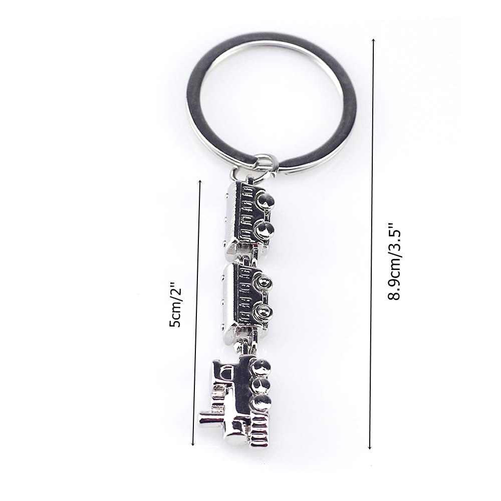 Mode Sleutelhanger Novelty Items Legering Trein Model Metalen Sleutelhanger Sleutelhanger Hanger Trinket Vrouwen Man Sieraden Souven