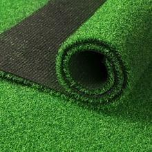 5M Artificial Synthetic Fake Grass Turf Plastic Green Plant Lawn Garden Decor durable no pollution
