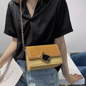 Image 3 - AXUKES Scrub Leather Small Crossbody Womens 2019 NEW China Shoulder Bags Main Female Travel Handbags and Wallets Evening Bags