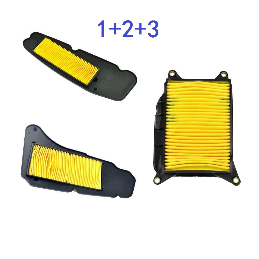 Motorcycle Air Filter Intake Cleaner for Yamaha YP400 Majesty 2004-2014 YP400 R X-Max 2013-2019 YP 400