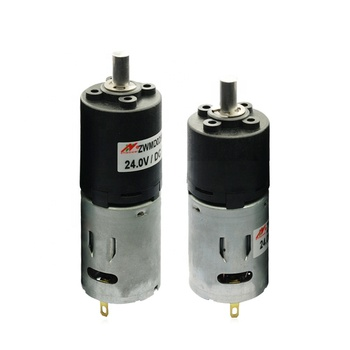 28mm diameter micro 12v/24v pmdc planetary gear motor