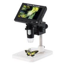 Цифровой электронный видео микроскоп паяльный микроскоп телефон Ремонт лупа для пайки чтения с 4,3 lcd
