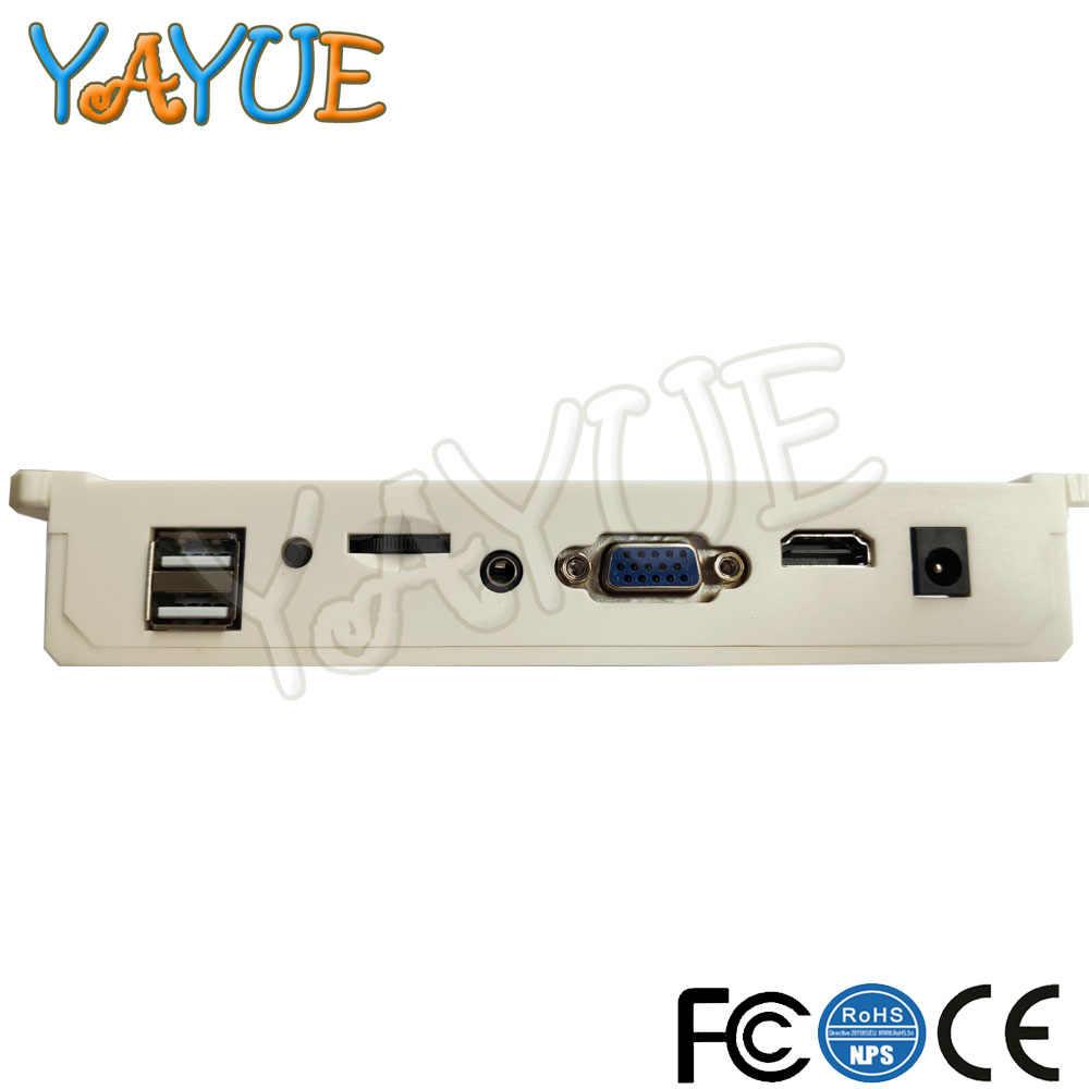 2600/1660 في 1 لعبة PCB مع جاما تسخير ممر صندوق الألعاب 9s مجلس الوزراء VGA/HDMI الإخراج لآلة لعبة فيديو وحدة التحكم