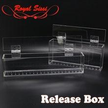 Акриловая коробка для рыбалки royalsissi демонстрационный чехол