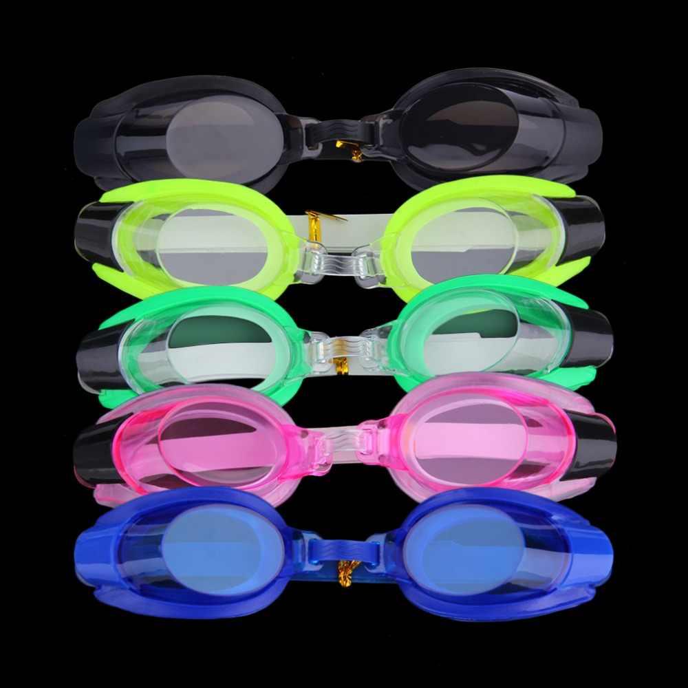 אנטי ערפל UV שחייה Goggle מתכוונן משקפיים עם האף קליפ + אוזן תקע עבור ילד למבוגרים לשחות אבזר משלוח חינם