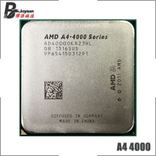 AMD A4-Series-CPU de doble núcleo, A4-4000 A4, 4000 GHz, AD4000OKA23HL, Socket FM2