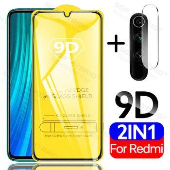 Funda protectora de cristal para Redmi Note 8 Pro 8T 9s para Xiaomi mi 9 Lite se 9t Pro A3 Redmi 8 8A 7A