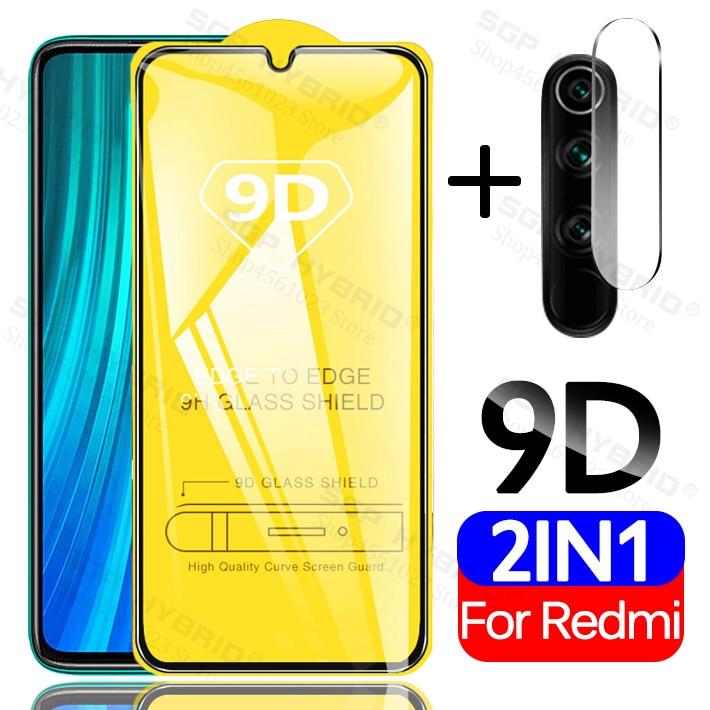Tempered Glass For Redmi Note 8T 7 K30 Camera Protective Glass Case For Xiaomi CC9 A3 Lite Redmi 8 8A Note8 Pro 7A Screen Film