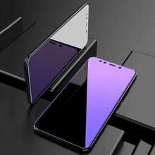 2PCS Anti Blue Purple Light Tempered Glass For Xiaomi Redmi Note 7 6 5A 4 4X 4A 3 5 Plus Sc