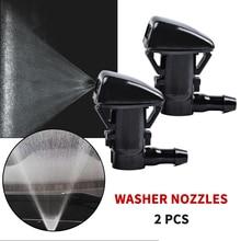 Форсунки для мытья лобового стекла Partsworld, 2 шт., форсунки для Chevrolet Malibu/Pontiac G6/Saturn Aura OEM 15247800, набор распылителей