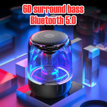 Mini Wireless Portable Bluetooth Speaker Speakerphone Radio Music Audio Support FM Card Stereo Speake Small Subwoofer Speaker wireless bluetooth speaker sc208 computer mini dual speaker portable small stereo car subwoofer support tf card usb disk