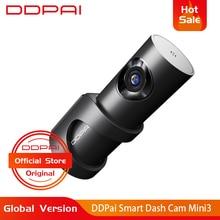 Global Version DDPai Mini3 Dash Cam DVR English Language 32GB 1600P HD Recording Camera 24H Parking Monitor Build-in eMMC цена