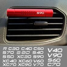 Ambientador de aire de alta calidad para coche, dispositivo de aromaterapia con barras con Clip para Volvo RDESIGN R DESIGN V70 XC60 S60 V60 V40 XC90